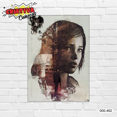 Placa decorativa - The Last Of Us