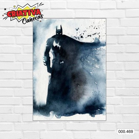 Placa decorativa - Batman, Arte
