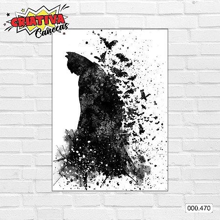 Placa decorativa - Batman, Arte de pintura