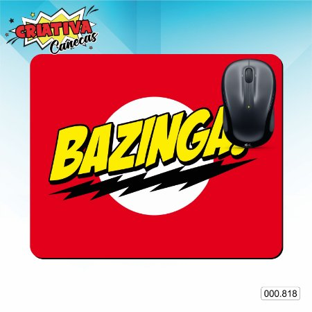 Mouse Pad - Bazinga