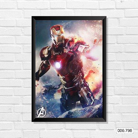 Quadro - Homem de Ferro