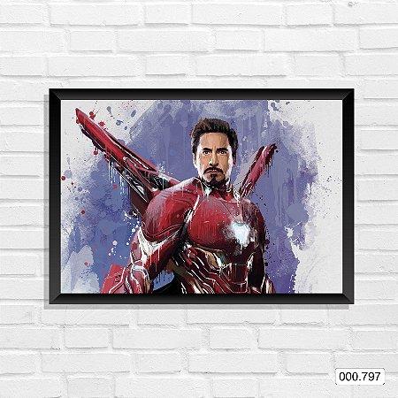 Quadro - Homem de Ferro, Arte