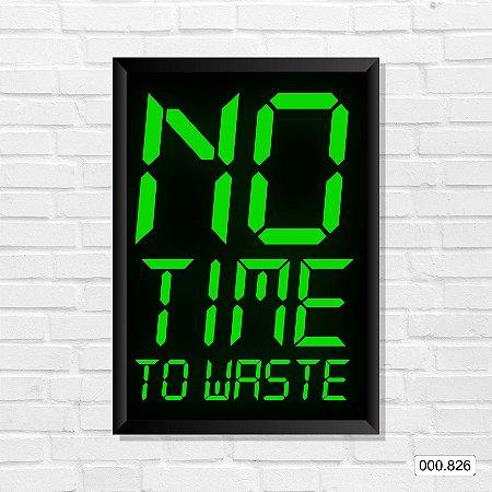 Quadro - No Time To Waste