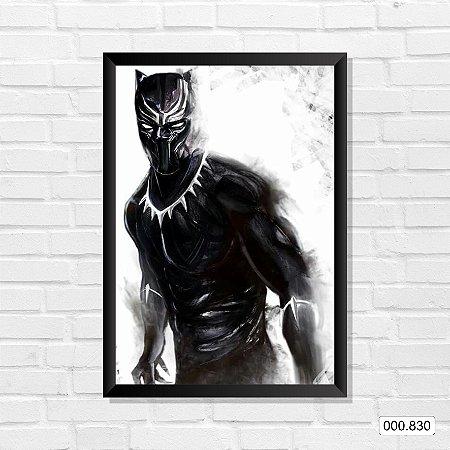 Quadro - Pantera Negra, Arte 3