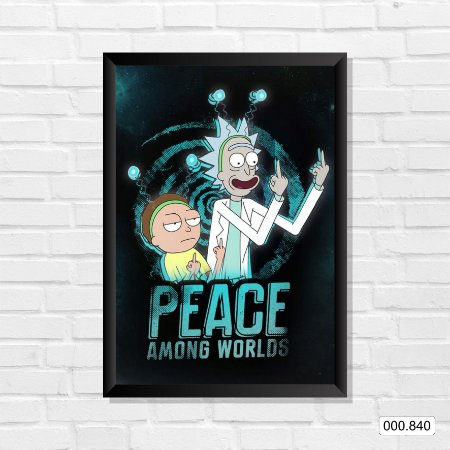 Quadro - Rick and Morty - Peace Among Worlds