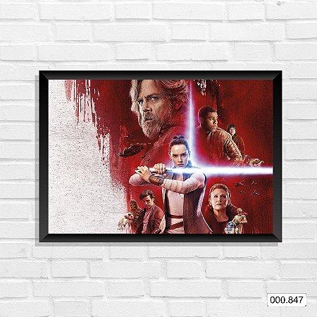 Quadro - Star Wars Episódio VIII 2