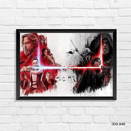 Quadro - Star Wars Episódio VIII 3