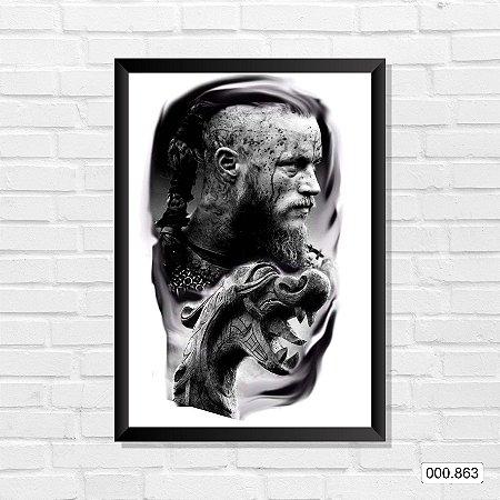 Quadro - Vikings - Ragnar