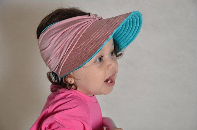 Viseira para Bebês com Proteção Solar Dupla Face Antares
