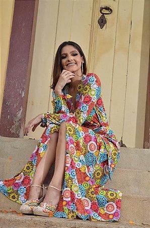 Vestido com Proteção UV Endless Summer - Riquezas do Brasil