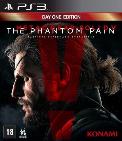 Metal Gear Solid V The Phantom Pain - Ps3