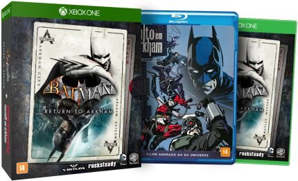 Batman Return To Arkham Edição Limitada Xbox One