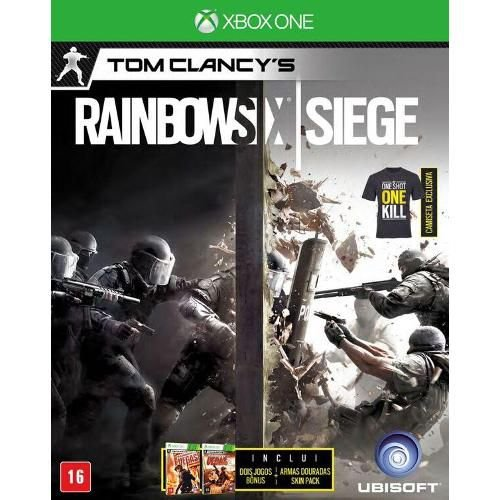 Tom Clancys Rainbow Six: Siege Xbox One - Brinde Camiseta