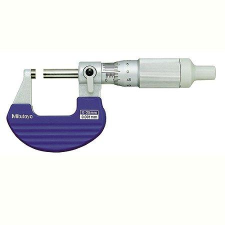 Micrômetro Externo 0-25mm 0,001mm Com Isolante Térmico e Catraca Integrada 102-707