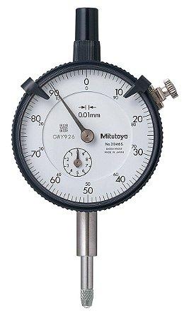 Relógio Comparador Modelo Padrão Tampa Lisa 10mm/0,01mm – 2046SB