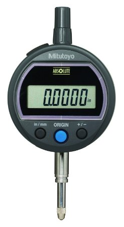 Relógio Comparador Digital ABSOLUTE ID-SS 12,7mm 0,01mm Tampa Com Orelha 543-506