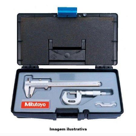 Kit de Instrumento – Paquímetro universal ( 530-104B-10) e Micrômetro externo (103-137) – KIT B-20