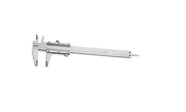 "Paquímetro Universal Aço Carbono 150mm/6"" 0,05/1/128"" King Tools 500.150"