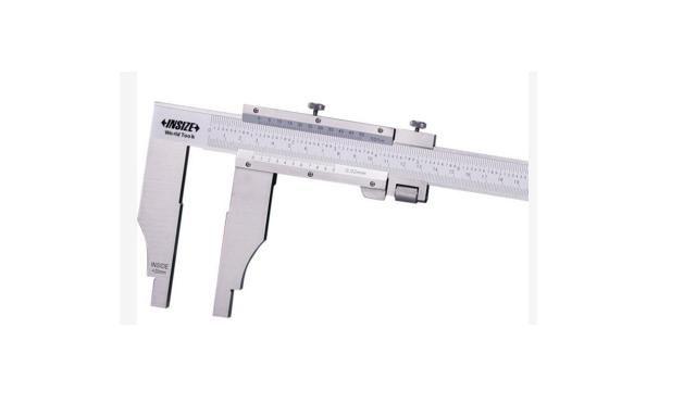 """Paquímetro Serviço Pesado Bicos Normais 0-600mm/24"""" Insize 1214-600"""