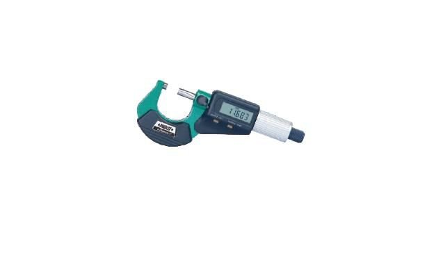 "Micrometro Externo Digital 0-25mm 0,001mm/0,0005"" Insize 3109-25A"