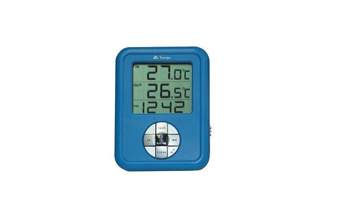 Termômetro Digital Interno 0°C - 60°C C/ 2 Canais Minipa MT-220