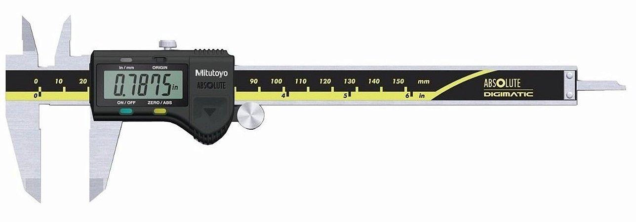 "Paquímetro Digital 0-150mm/6"" 0,01mm/0.005"" Mitutoyo 500-171-30B"