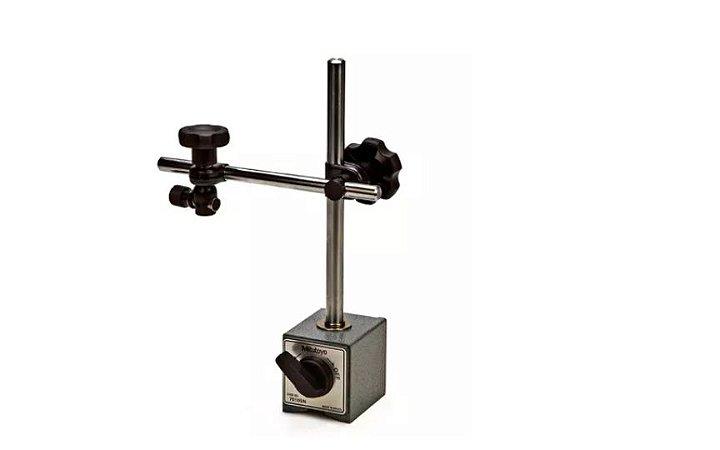 Suporte Magnético Com Ajuste Fino para Relógio Apalpador e Comparador Mitutoyo 7011SN