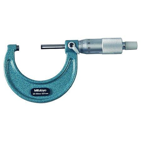 Micrômetro Externo 25-50mm 0,01mm Mitutoyo 103-138
