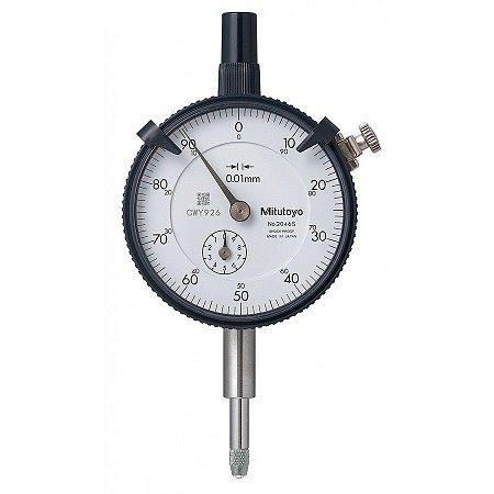 Relógio Comparador Graduação de 0,01mm Mitutoyo 2046S