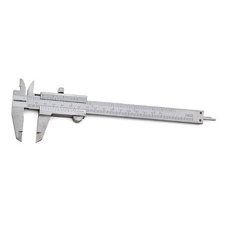 "Paquímetro Universal 0,05mm 1/128"" 150mm/6"" Digimess 100.001A"