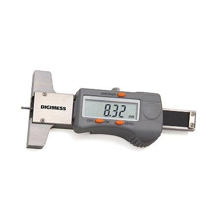 Paquímetro Digital de Profundidade para Sulcos de Pneus 0,01mm Digimess 100.200L