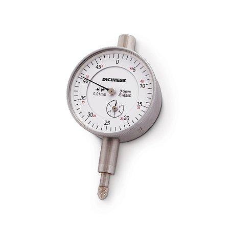 Relógio Comparador 5mm 0,01mm Digimess 121.301
