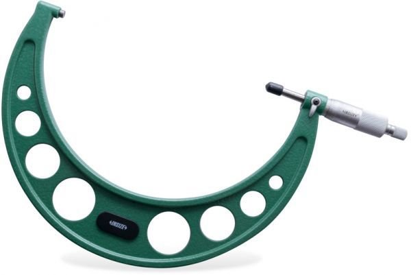 Micrometro Externo Arco de Ferro Fundido 175-200mm Insize 3203-200A