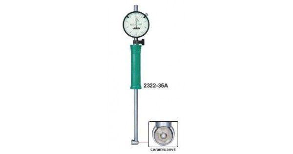 Comparador de Diâmetro Interno 18-35mm 0,01mm Insize 2322-35A