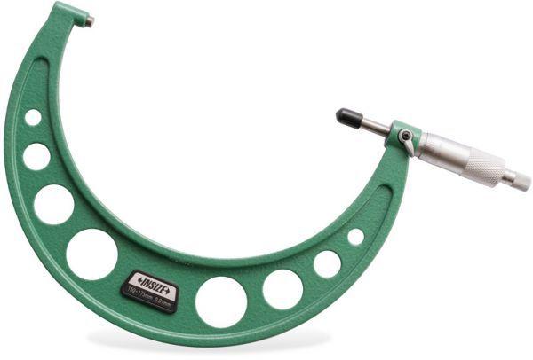 Micrometro Externo Arco de Ferro Fundido 100-125mm Insize 3203-125A