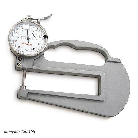 Medidor de Espessura Arco Longo de 120mm 0-20mm/0,01mm Digimess 130.126