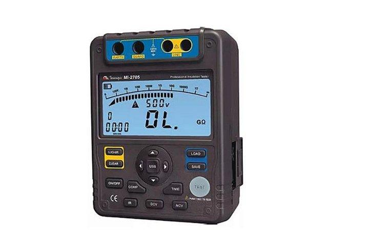 Megômetro Digital CATIII 600V Minipa MI-2705