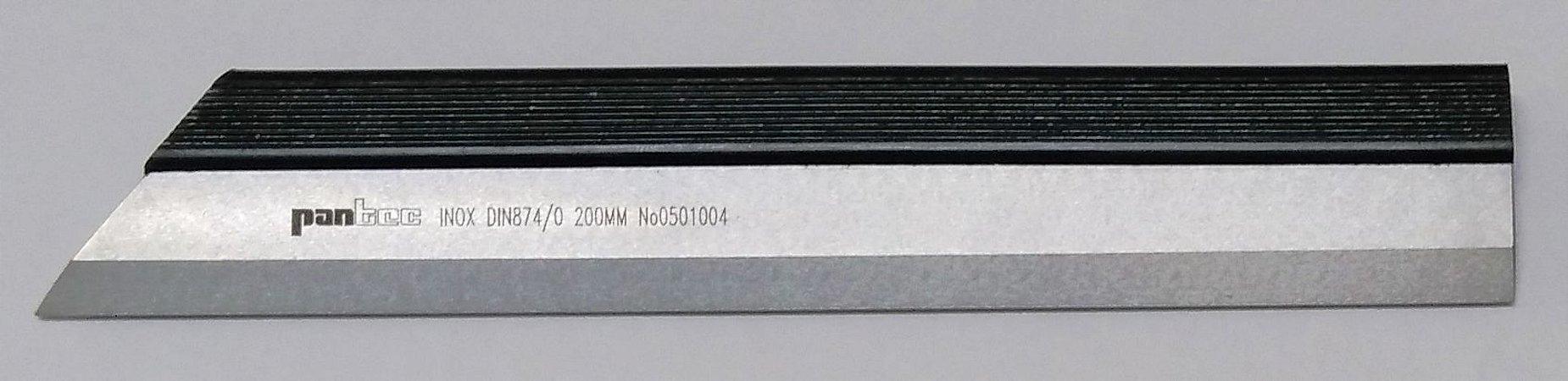 Régua de Precisão com Fio Classe 0 200mm Pantec 14700-200-0
