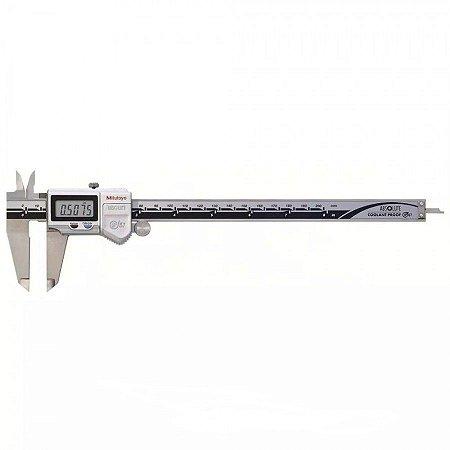 Paquímetro Digital à Prova D'Água ABSOLUTE 200mm 0,01mm C/ Saída de Dados IP67 Mitutoyo 500-763-20