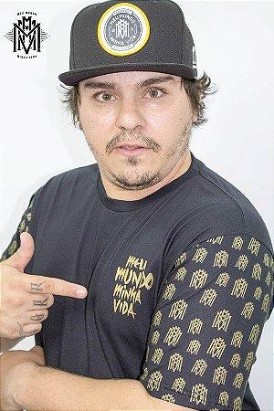 Camiseta MMMV Gold Preta