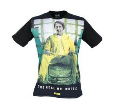 Camiseta The Real Mr White