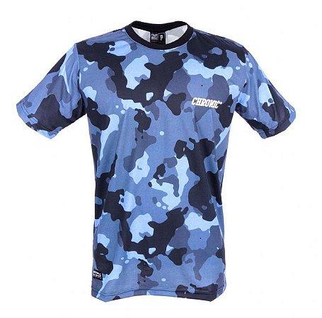 Camiseta Camuflada Black and Blue