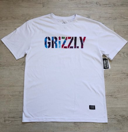 Camiseta GRIZZLY Logo Colors