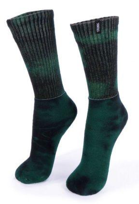 Meia Tie Dye - Verde Musgo