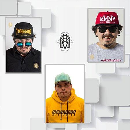 KIT 6 - TORRESMO MAFIA + MMMV VERMELHO + BONÉ COLEÇÃO 2018 VERDE