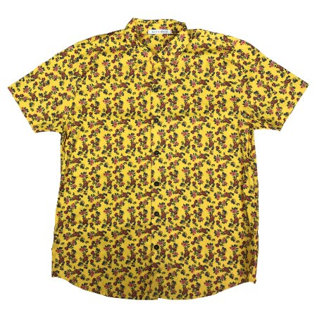 Camisa Yellow Flowered