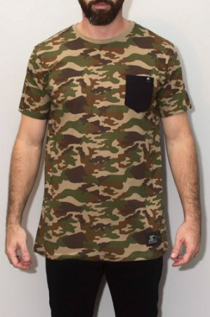 Camiseta Starter EST Pocket Camu