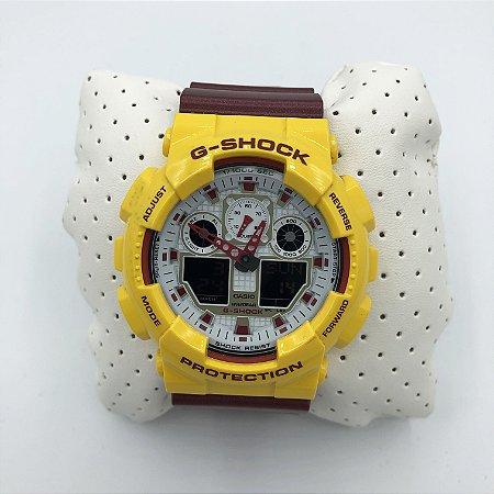 8a35fdaef881 Relógio G-Shock GA-100CS-9ADR Original - LOJA MMMV