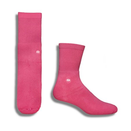 MEIA SOLID PINK