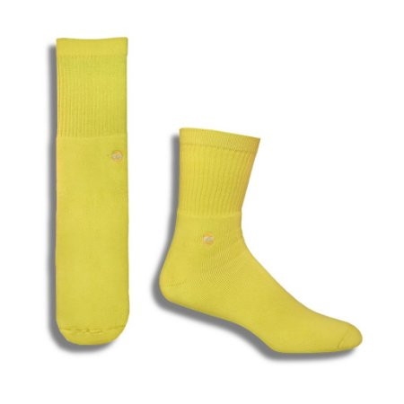 MEIA SOLID YELLOW